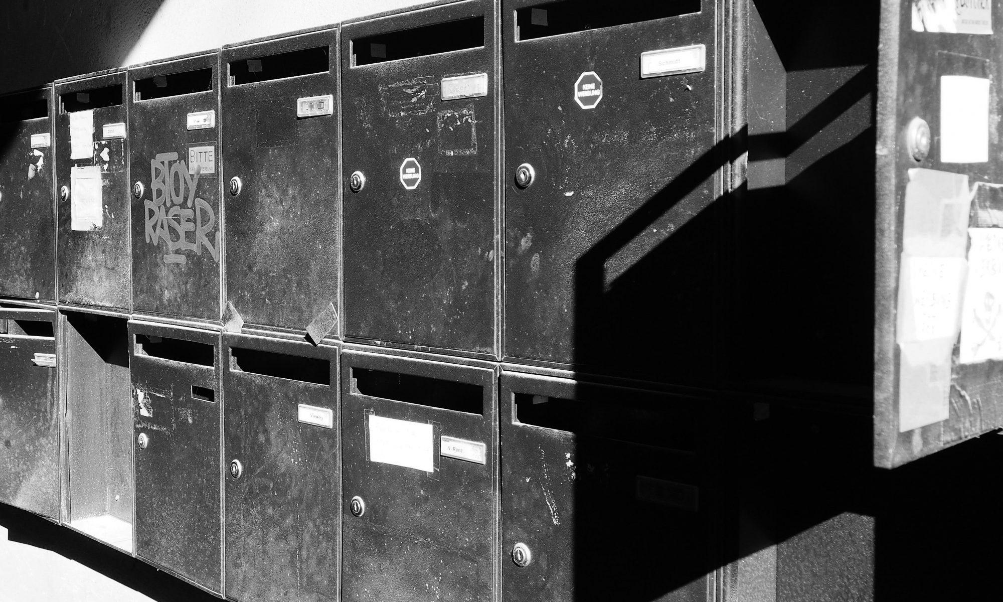 Briefkästen in Berlin © Gunnar Kruse / Flickr / CC BY 2.0